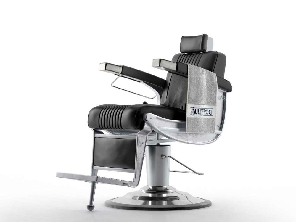 Superb Bullfrog Barber Chair 3D Model Gmtry Best Dining Table And Chair Ideas Images Gmtryco