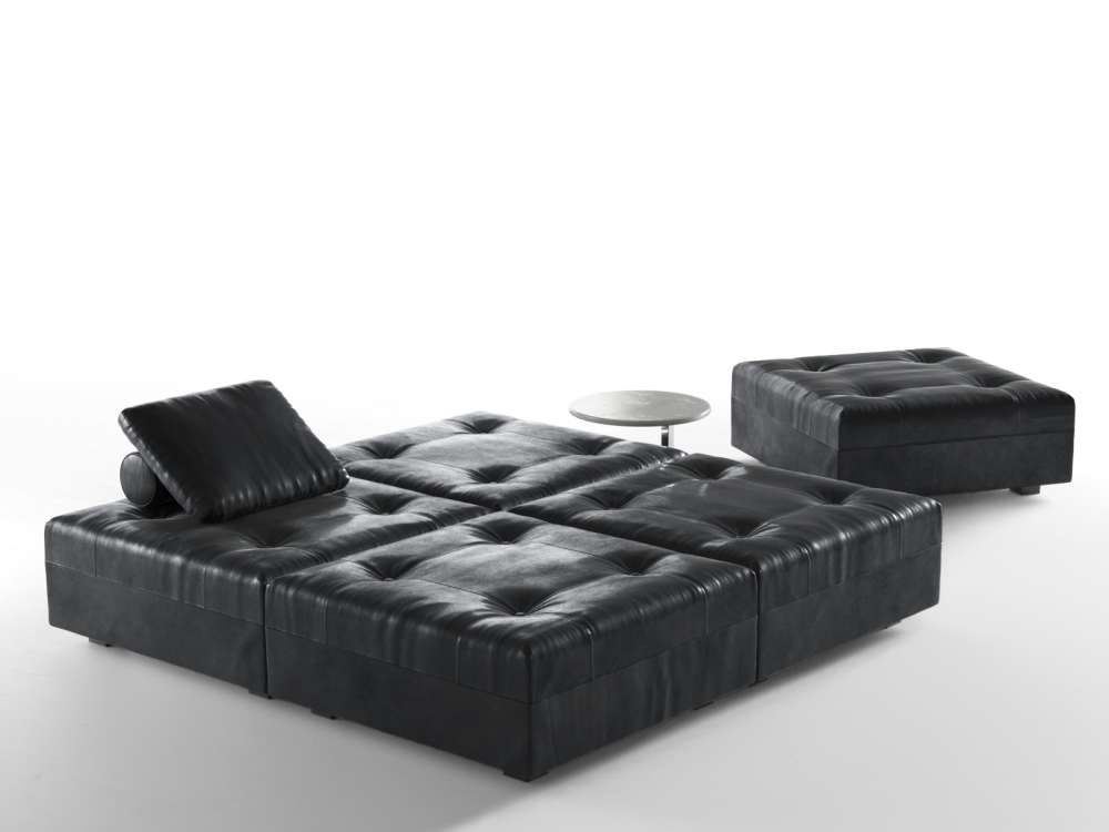 Daybed with Coffee Table 3d model
