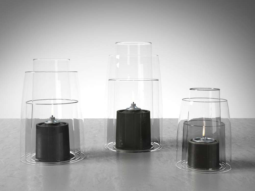 Deborah Ehrlich Pewter Hurricane Lanterns 3d model