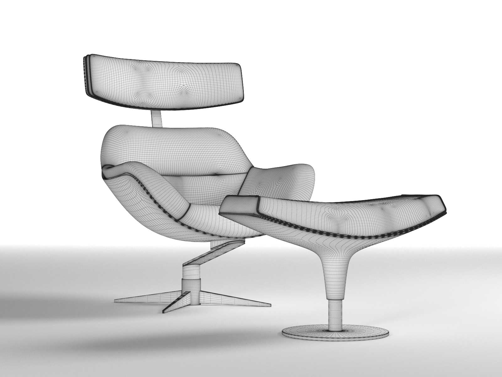 armchair drawing. 277 auckland armchair and footrest drawing