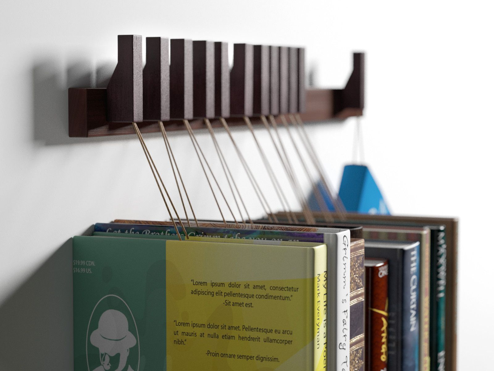 cabinets display product oak sideboard wave en h by from architonic for holder ethnicraft shelf book rack