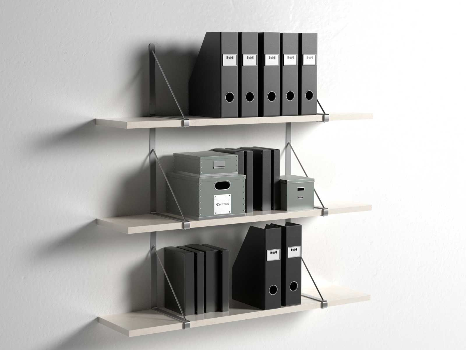 gallo wall shelves with office organizers - ekby gallo wall shelves with office organizers