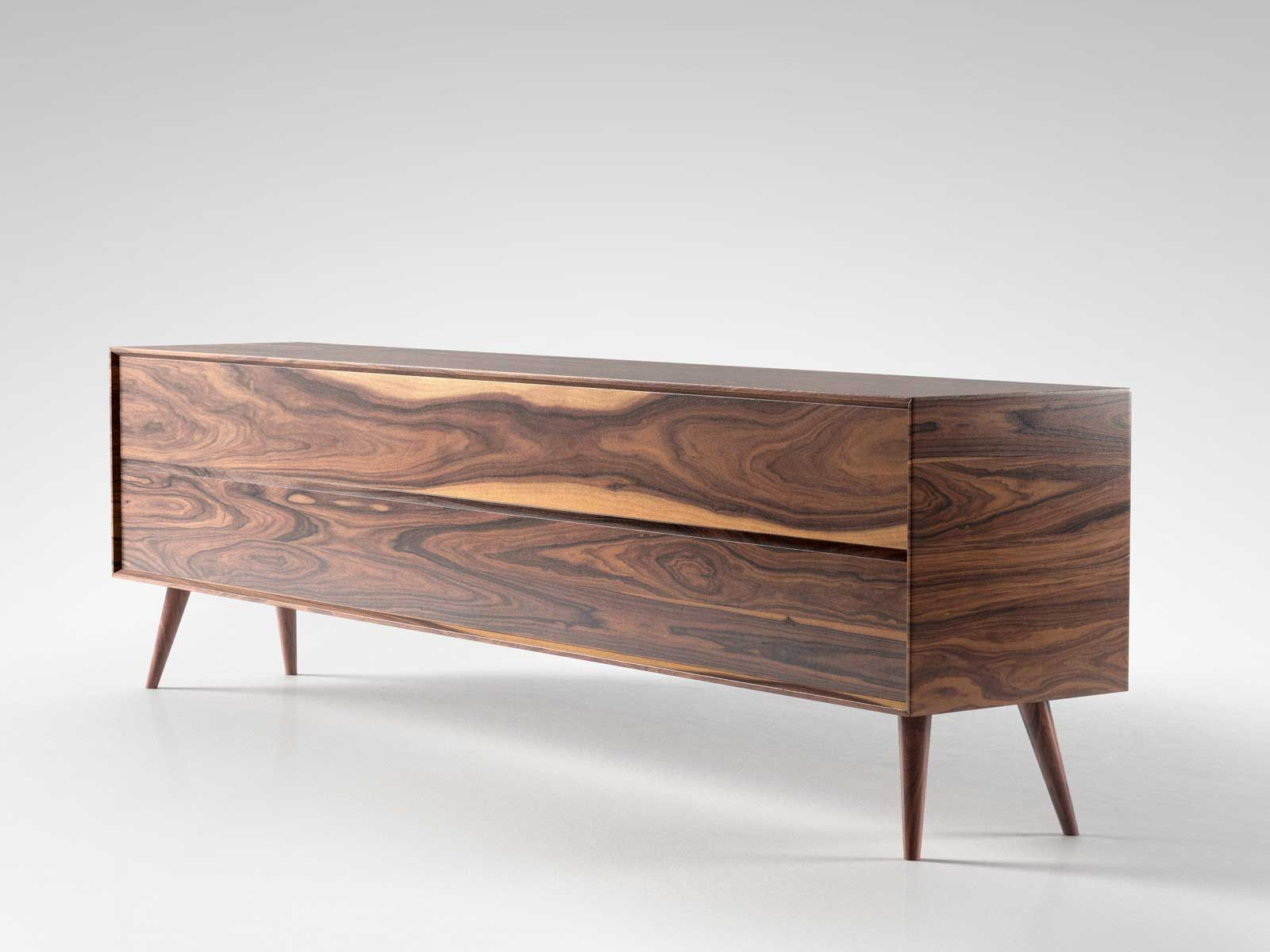 Mid century sideboard 02 3d model