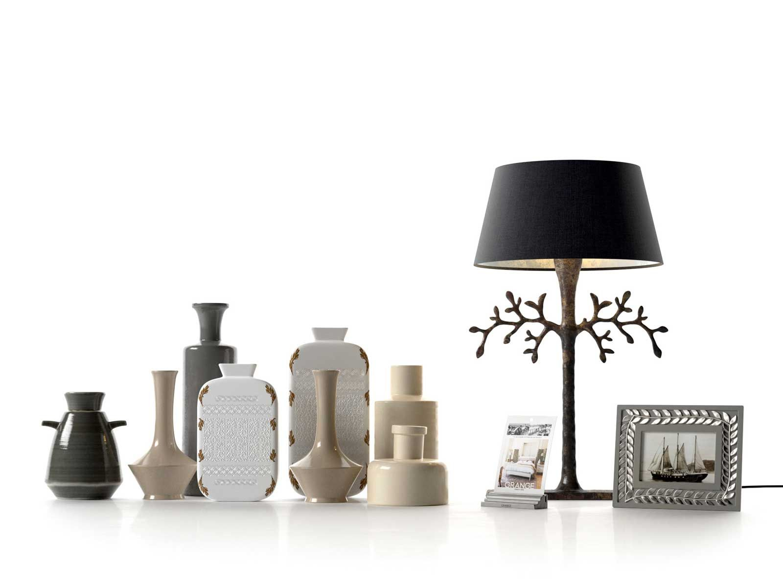 Well known Photo Frame, Bottle Vases and Branch Table Lamp. PX15