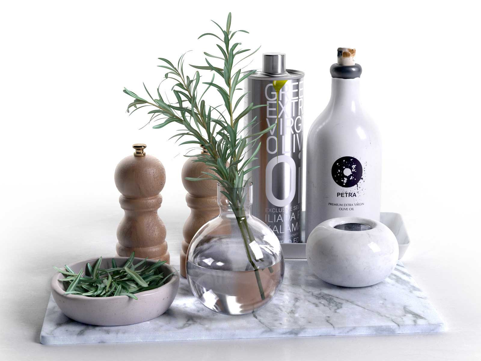 With bowls rosemary olive oil salt and pepper trays with bowls rosemary olive oil salt and pepper reviewsmspy